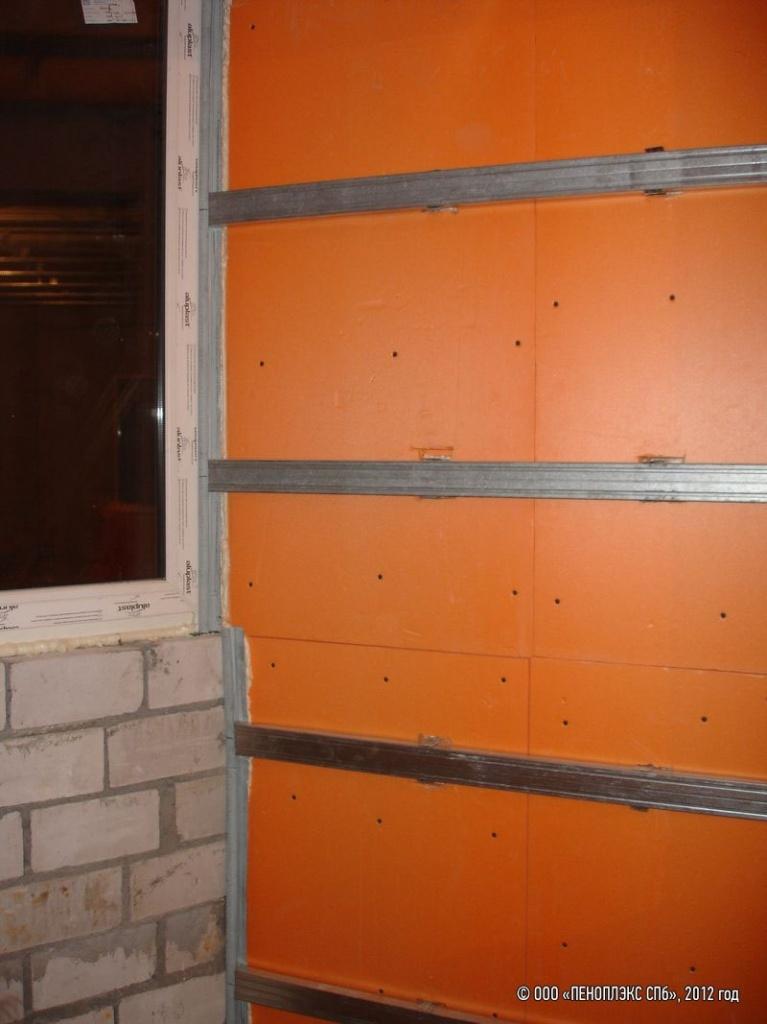 Пеноплекс монтаж своими руками фото фасад